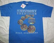 NWT Original UK WILDCATS KENTUCKY 1998 Final Four NCAA CHAMPIONS Blue t-shirt XL