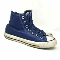 Converse Womens Chuck Taylor All Star Hi Roadtrip 153813C Blue Shoes Size 6W 4M