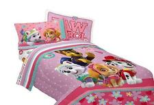 Paw Patrol Girls Best Pup Comforter Twin Full Size Bedding Kids Toddler New