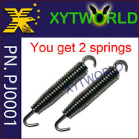 60mm Exhaust Spring Pipe Muffler for Suzuki RMX 250 1992 - 1998