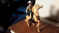 "Hartland ""Lone Ranger"" & Silver/Saddle/Hat/Pistol Western Model Horse"