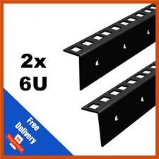 2x 6U 19 in (environ 48.26 cm) Rack Strip-Flight Cases   vendu par paire