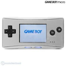Nintendo GameBoy Micro - Konsole #silber + Stromkabel