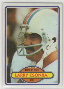 1980 Topps Football Miami Dolphins Team Set