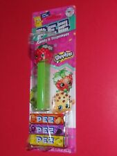 PEZ SHOPKINS STRAWBERRY KISS  2 TIMES THE CANDY  COLLECT BANNER