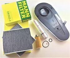 Ölfilter Kraftstofffilter MAHLE Luftfilter Aktivkohle MANN-Filter BMW 5er F10
