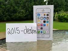 Apple iphone 5s - Silver - 16GB( Straight Talk or Total wireless) - MN6T2LL/A