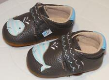 Rose & Chocolat Happy Whale, in Grey  Babyshoes Size 1-2 Free P&P