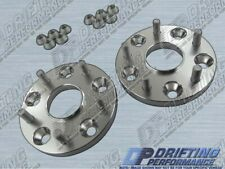 """Hub Centric 5/8"""" (16mm) Wheel Adapters Spacers 5x114.3 12x1.5 Studs 60.1mm CB"""