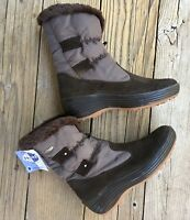 New!  PAJAR Canada 38 EUR, 7.5-8 US Brown Front Zip Winter Boots