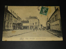 NANGIS (SEINE-ET-MARNE) - CARREFOUR CENTRAL - 1906 - CARTE POSTALE ANCIENNE