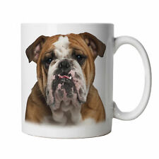 British Bulldog Mug - English Bull Dog Funny Novelty Gift for Him Her Birthday
