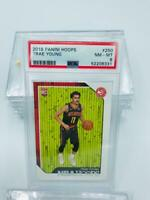 2018-19 Panini Hoops Trae Young PSA 8 #250 Rookie