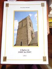 L'église de Chef du Pont par Jean-Noêl NOURY / NORMANDIE Manche