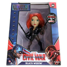 "Avengers Civil War Black Widow - Jada Metals 4"" Figure Diecast Metalfigs (M48)"