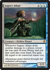 AUGURY ADEPT NM mtg Commander 2013 White/Blue - Kithkin Wizard Rare