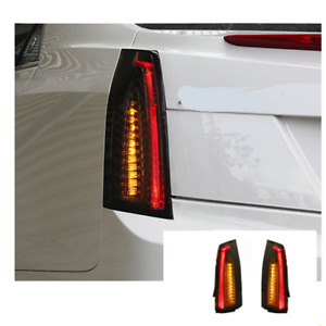 LED Tail Lights For Cadillac ATS 2014-2017 Sequential Signal Smoke Replace OEM