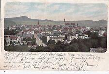 I 92-Jelenia Góra Hirschberg Slesia, sguardo dal cavalierberg, lito 1903 GLF.
