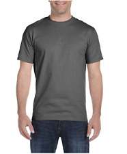 HANES 'BEEFY' TWIN-PACK T-SHIRTS/Gunmetal - 3XL