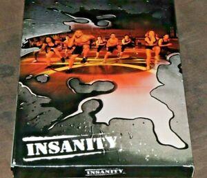 Insanity Total Body Workout Program - 12 Disc DVD Set FREE SHIPPING!