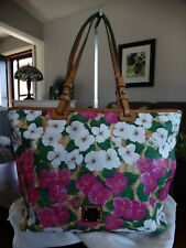 Dooney & Bourke Large Floral Leisure Tote
