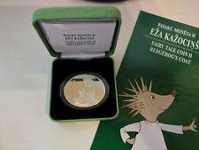 Lettland 5 Euro 2016 Silber Märchen Munze II Igel PP Silber