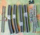 Nickle Silver Track 12 R18 & 13 Straight +One Turn-out  - HO   Box #34
