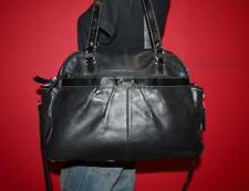 COACH ADDISON LARGE Black Leather Multi-Function Baby Tote Bag Purse F18374