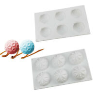 3D Diamond Silicone Mould Mousse Fondant Cake Chocolate Pudding Baking Mold New