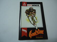 1993 NFL & College Football Goal Line Guide Booklet WNCX Cleveland Radio