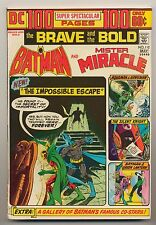 Brave and the Bold #112 (1974) FN (6.0) ~ Batman & Mr. Miracle ~ Bob Haney
