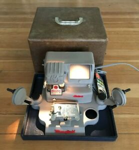 Vintage Mansfield Film Splicer Model 950 Deluxe Little Gem 8 & 16 mm Editor