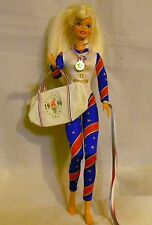 BARBIE DRESSED IN 1996 ATLANTA OLYMPIC GAME GYMNIST OUTFIT