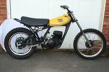 Yamaha YZ250 B 1975 Motocross Bike Restoration Project YZ 250 B 75 Monoshock