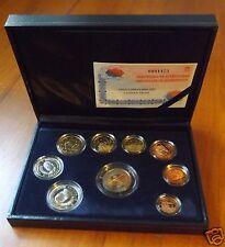 manueduc  ESTUCHE  FNMT ESPAÑA 2005  PROOF  con 9 Coins 2 Euros Conmemorativos