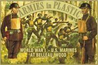 Armies In Plastic 5405 - WW1 U.S. Marines Belleau Wood Figures-Wargaming