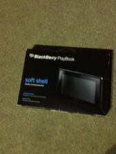 Original Blackberry PlayBook Soft Shell Tablet Cover/Case Black 36892BBR. X2..