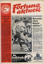 BL 72/73 Fortuna Düsseldorf - Borussia Mönchengladbach (17.02.1973)