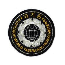 "TaeKwonDo Kukkiwon Patch Tae Kwon Do Korean Gym Uniform Dobok Bag 3.6"" Yy"