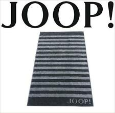 JOOP! Classic Frottierkollektion STRIPES Qualität Handtuch 1610-97 Schwarz NEU