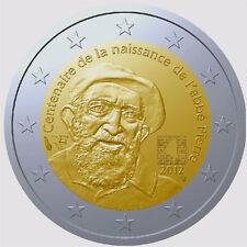 2 EURO * La France 2012 *** Abbé Pierre *** Frankrijk 2012 !!!