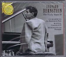 BERNSTEIN CD SET NEW THE EARLY YEARS 2 GERSCHWIN RAVEL BERNSTEIN