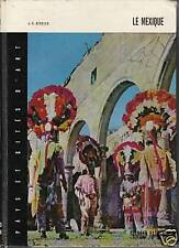 Livre  ancien le Mexique J C Berrier Fernand Nathan