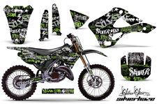 KAWASAKI KX 125/250 Graphic Kit AMR Racing # Plates Decal Sticker Part 99-02 RLG