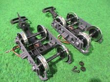 Lgb 3080 series trucks w metal wheels, couplers & electricity pick-up -Mint-