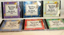 Seeing Stars Star Words 6 CD Set Timed Reading Practice 1-300 Words EUC