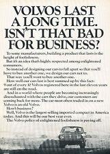 1970 Volvo 140 142 144 - Vintage Advertisement Car Print Ad J497