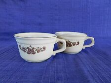 Pfaltzgraff Village CUPS - SET of TWO (2)  *have more items to set* DISCOUNT