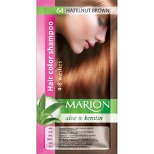 Marion Hair color shampoo sachet (lasting 4-8 washes) Aloe & Keratin 64