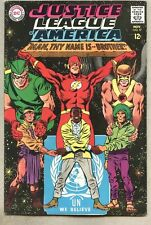 Justice League Of America #57-1967 fn+ classic Civil Rights story and cover